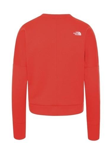 The North Face Hikesteller Kadın Sweatshirt Kırmızı Renkli